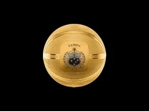 Moneda de argint Basketball Samoa