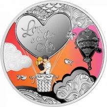 Moneda de argint Love is in the Air