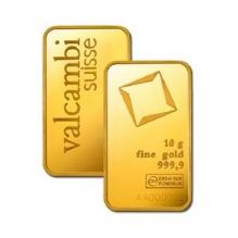 Lingou de aur 10 grame Valcambi