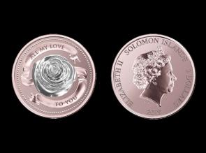 Moneda de argint All my love