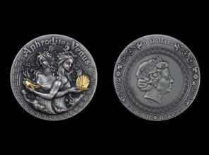 Moneda de argint Aphrodite & Venus