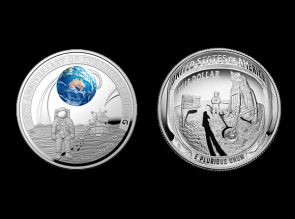 Set monede argint Moon Landing 50 th Anniversary