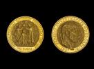 Moneda de aur 100 Coroane - la comanda
