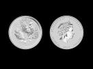 Moneda de argint Australia Rooster 5 Oz