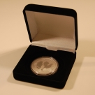 Cutie Moneda cu 3 diametre neagra